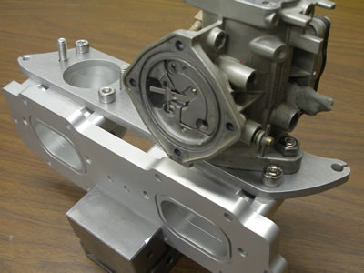 GP800 Carburetor Plate